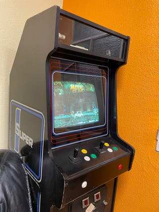 Máquina recreativa neogeo