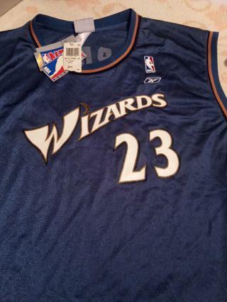 MICHAEL JORDAN 23 WIZARDS NBA REEBOK 2XL NEW.