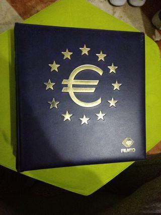 álbum monedas euro