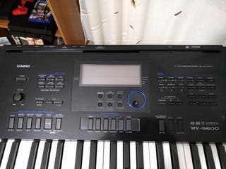 Vendo piano/organo electronico Casio WK6600