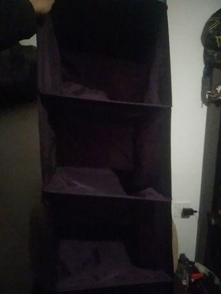 estanteria plegable de tela IKEA