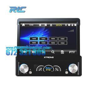 """RADIO NAVEGADOR 1DIN GPS 7"""" HD TÁCTIL BLUETOOTH 4."""