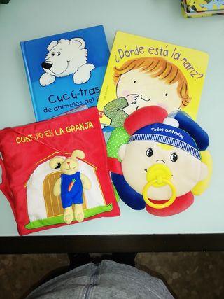 Lote 4 cuentos para bebé