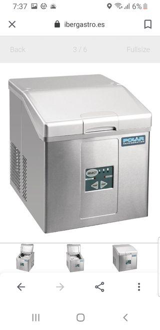 Máquina de hielo de sobremesa.