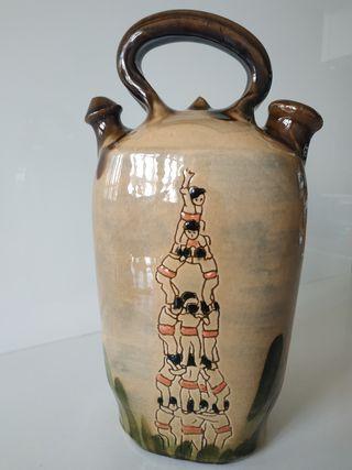 Botijo artesanía popular Castellers