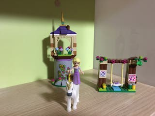 Lego castillo Rapunzel