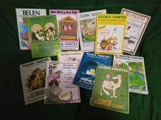 Colección infantil de libros de Gloria Fuertes