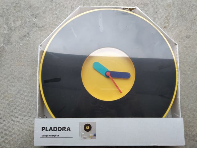 Reloj-Pizarra Ikea