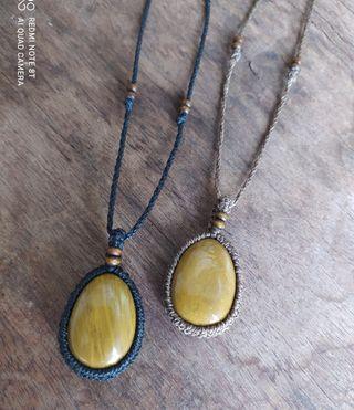 collar con piedra jaspe