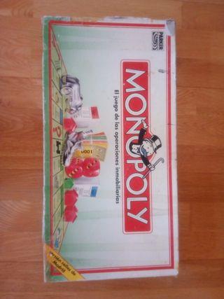 Monopoly clásico. Calles de Madrid.