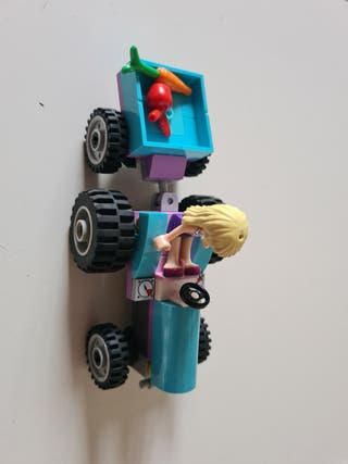 tractor lego friends