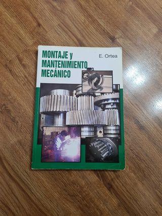 Libro Montaje Mantenimiento Mecánico Mecatronica