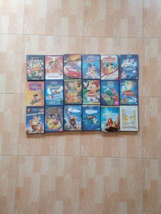 Pack películas Disney