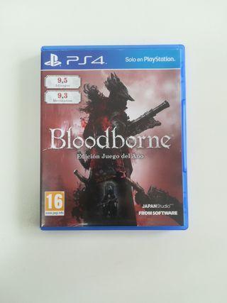 Juego PS4 - Bloodborne