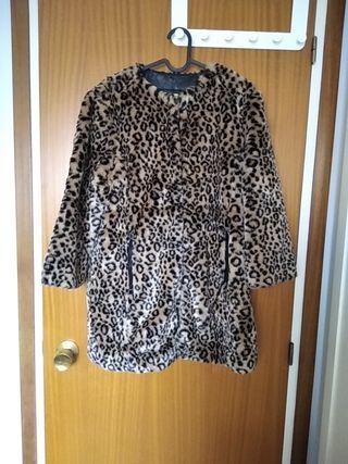 Abrigo leopardo M