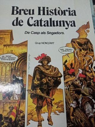 libro breu historia de Catalunya de Casp als Segad