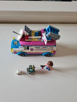 coche de misiones lego friends