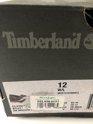 Zapatos Timberland Nauticos