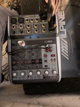 Mesa de mezclas beringher xeny (USB)