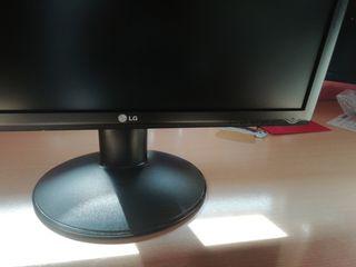 pantalla de ordenador, LG, negra