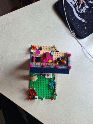 apartamento de lego friends
