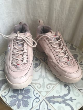 Zapatillas FILA originales color rosa claro