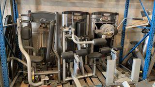 Máquinas musculación gimnasio