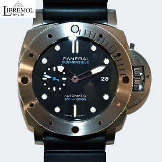 (7241) Panerai Luminor Sumersible titanio