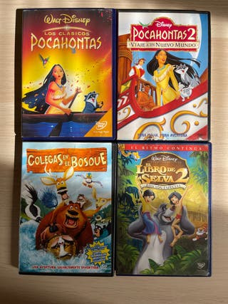 4 películas de DVD