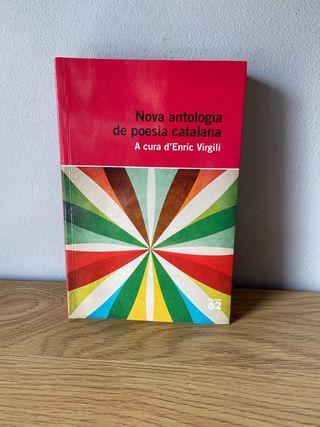 "Libro ""Nova antología de poesia catalana"""