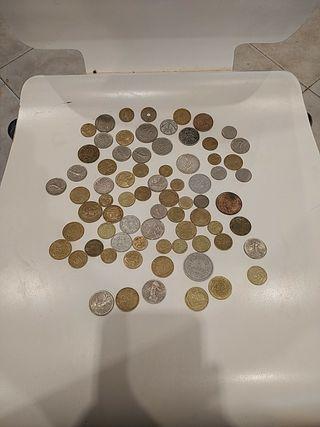 Colección 73 monedas Francesas antiguas