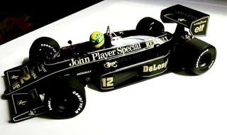 Ayrton Senna Lotus 98T Minichamps 1/18