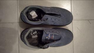Zapato de seguridad. Marca ROBUSTA.