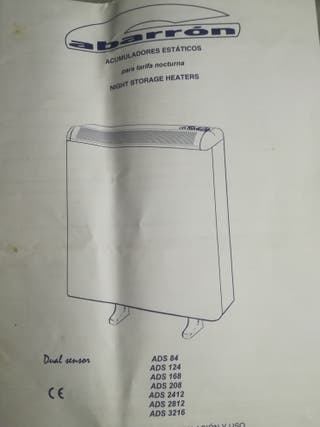 Radiadores acumuladores eléctricos Gabarron