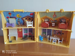 Casa maletín playmobil