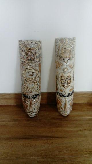 Mascaras madera