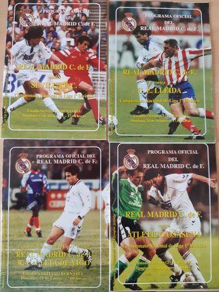 PROGRAMAS OFICIALES REAL MADRID 93- 94 +Regalo