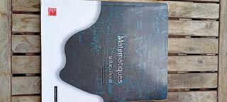 Libro matemáticas, 1ro bachillerato
