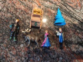 Figuras de Frozen Disney