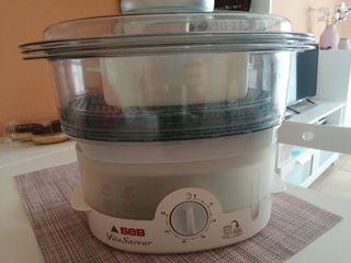 máquina para hacer comida al vapor