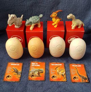 4 Dinosaurios Happy McDonald