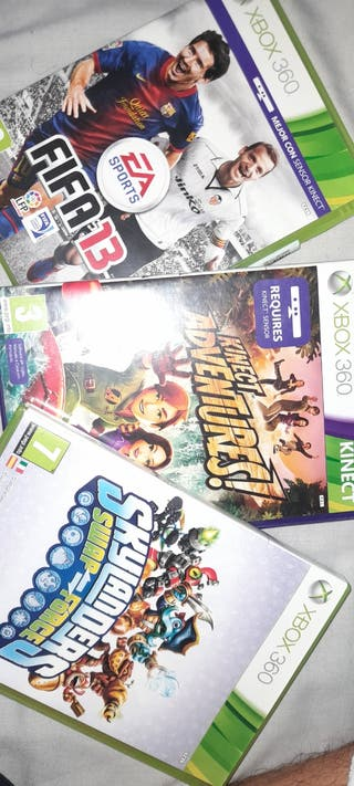 3 juegos xbox360