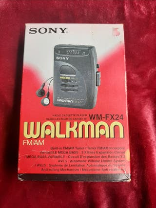 Walkman radio cassette Sony Nuevo