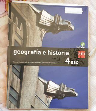 Geografía e historia 4 eso editorial SM