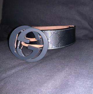 Cinturon Gucci GG Supreme con Hebilla de G