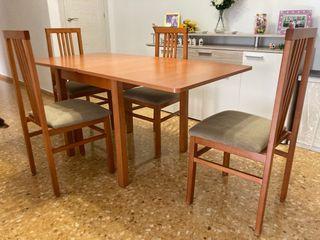Mesa y sillas comedor