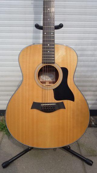 Guitarra acústica 12 cuerdas Taylor 356e, nueva!