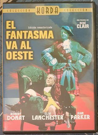 DVD película EL FANTASMA VA AL OESTE.