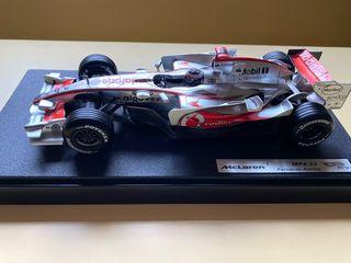 Maqueta McLaren MP4-22 Fernando Alonso HotWheels