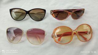 lote de gafas de sol antiguas años 40
